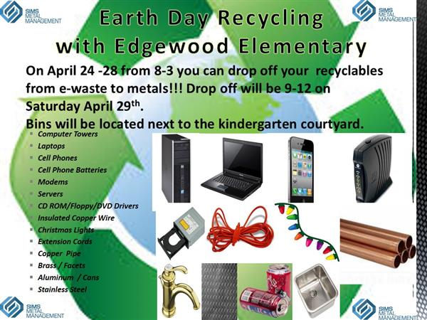 Electronics Recycling Flyer