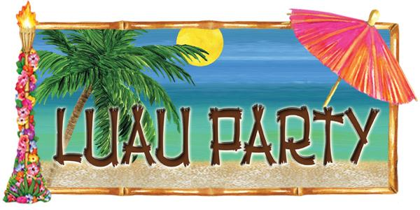 Luau Night! Friday May 6th from 5 pm-7 pm
