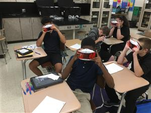 Barker Teachers Taking Students Around the World--Virtual Reality Style