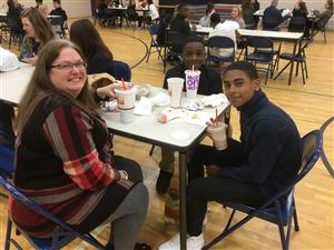 "Barker Hosts 4th Quarter ""Parent Invite to Lunch"""