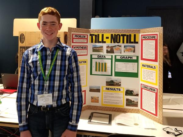 Barker Student Earns Award at Hoosier State Science & Engineering Fair