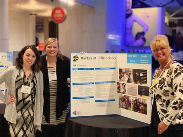 Barker Attends Museum of Science & Industry School Partners Recognition Event