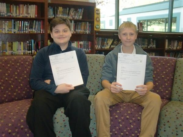 3 Barker Students VFW Patriot's Pen Essay Contest Winners