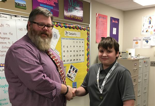 Barker National Geography Bee School Champion Crowned