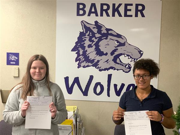 "Barker Students Win VFW ""Patriot's Pen"" Essay Contest 2019"