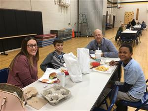 "Barker Hosts 2nd Quarter ""Parent Invite to Lunch"""