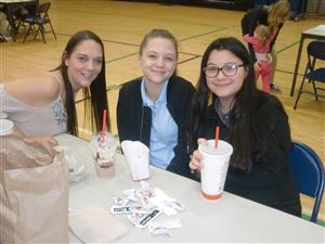 "Barker Hosts ""Parent Invite to Lunch"" for American Education Week"