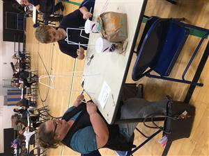 "Barker Hosts Quarterly ""Parent Invite to Lunch"""