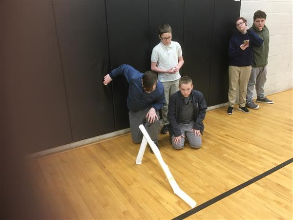 Barker Celebrates National Engineers Week STEM Challenge Style