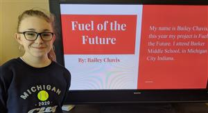 Barker Student Wins Award at Virtual State Science Fair