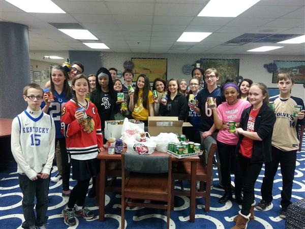 "KMS ""Teams Up"" to End Hunger"