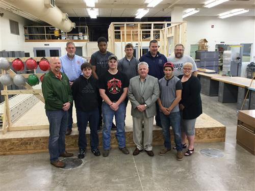 Students have Earned Direct Entry to the Regional Carpentry Apprenticeship Program