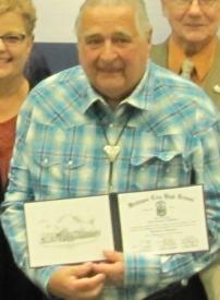 Longtime Manufacturing Volunteer Recieves Honorary Diploma