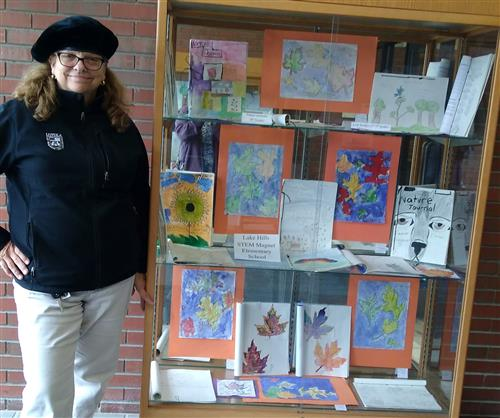 Lake Hills Art on Display at the MCAS Administration Building