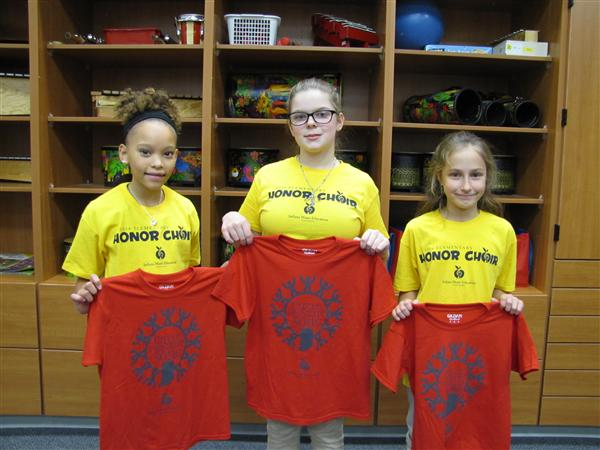 MCAS Students Selected for State Elementary Honor Choir