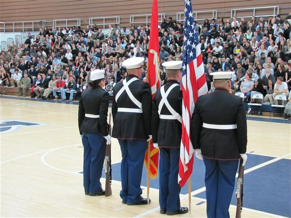 MCAS Celebrates Veterans Day