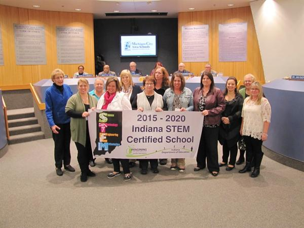 Lake Hills Honored for STEM Certification