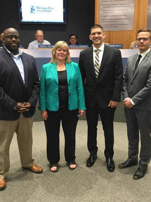 MCAS Welcomes New Administrators to Leadership Team