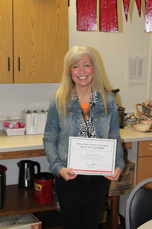 MCAS Instructional Assistant Named Indiana's Education Support Professional of the Year
