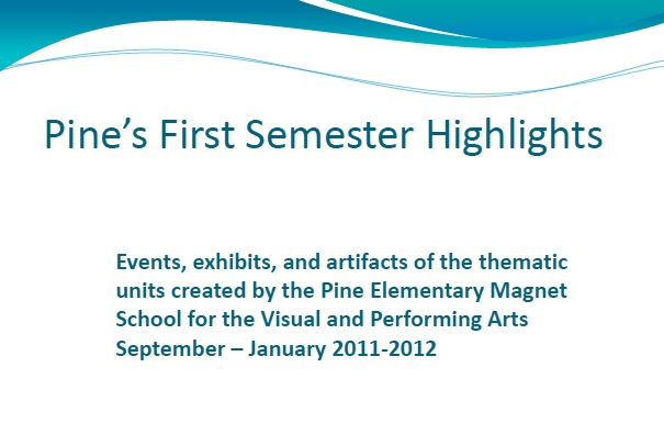 First Semester Highlights Title Page