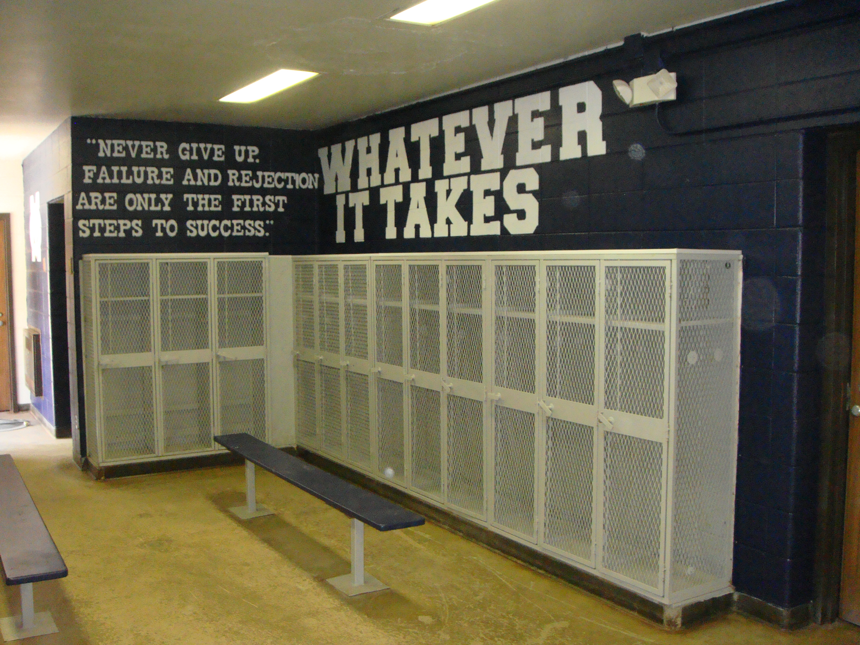 middle school football announcements and information