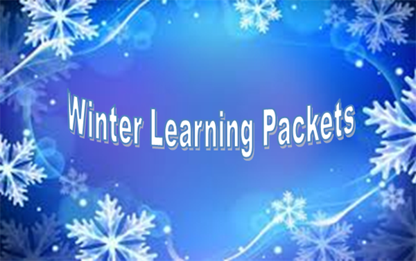 winter learning packets