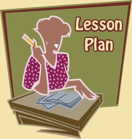 Lesson plan clipart